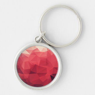 Rose Facet Matrix Keychain