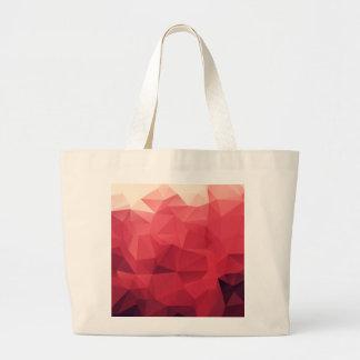 Rose Facet Matrix Large Tote Bag