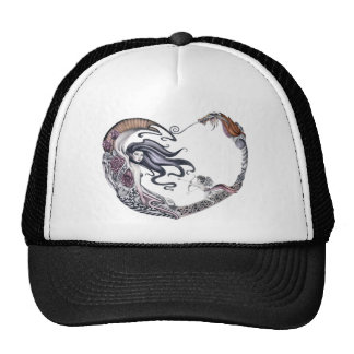 Rose Faery Trucker Hat