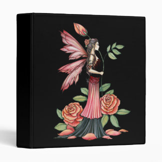 Rose Fairy Binder by Molly Harrison