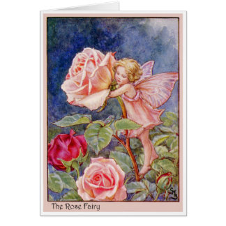 Rose Fairy Card