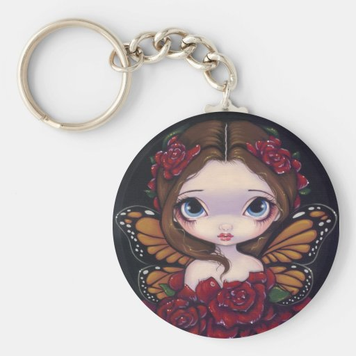 """Rose Fairy"" Keychain"