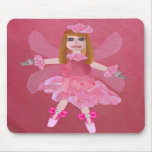 Rose Fairy Mouse Pad
