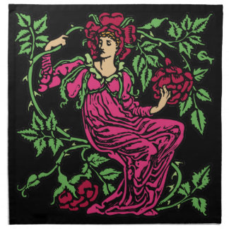 Rose Fairy Napkin
