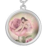 Rose Fairy Necklace