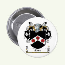 Rose Family Crest Button