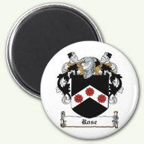 Rose Family Crest Magnet