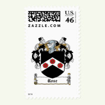 Rose Family Crest Stamps
