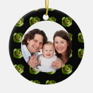 Rose/ Family Photo Christmas Tree Ornaments