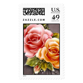 Rose Family - Postage Stamp