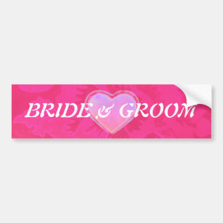 Rose Fantasy BRIDAL Car Bumper Sticker