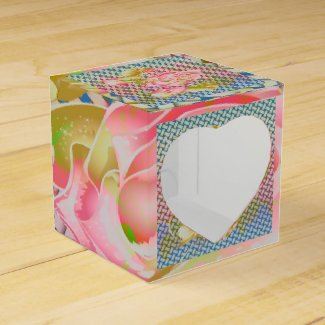 Rose Favour Box