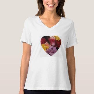 Rose Filled Heart T-Shirt