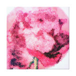 Rose Fine Art Print Wrapped Canvas Gallery Wrapped Canvas