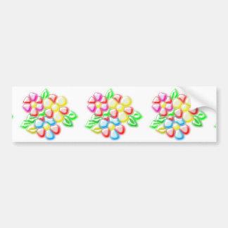 Rose Flopwer Image Bumper Sticker