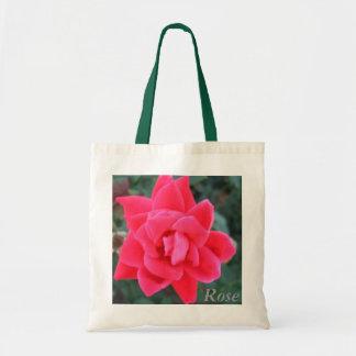 Rose - Floral Art Carry Bag by CricketDiane