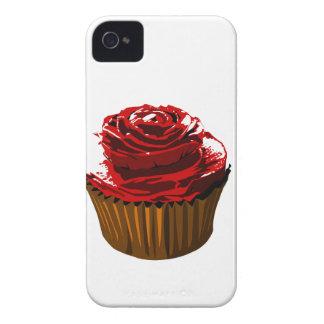 Rose floral design cupcake Blackberry Bold case