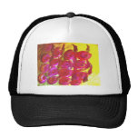Rose Floral Design Products Trucker Hats