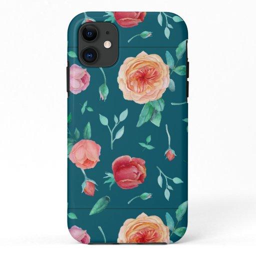 Rose Floral Phone Case