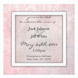 Rose Floral Wedding Invitation