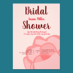 Rose Flower Bridal Shower Invitation