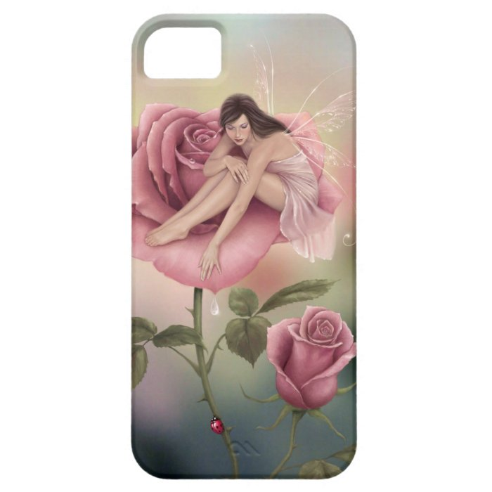 Rose Flower Fairy 5 Case-Mate Barely There™ iPhone SE/5/5s Case