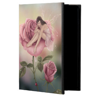 Rose Flower Fairy Art iPad Air Case