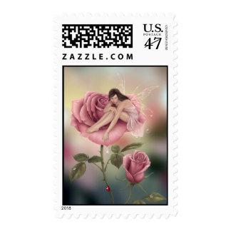Rose Flower Fairy Postage
