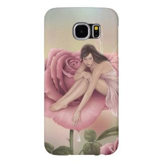 Rose Flower Fairy Samsung Galaxy S6 Case