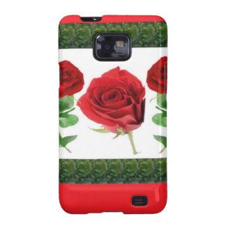 ROSE FLOWER GALAXY S2 CASE