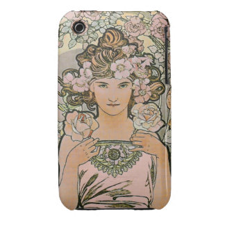 Rose Flower Girl Fine Art iPhone 3 Cover