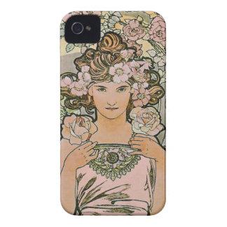 Rose Flower Girl Fine Art iPhone 4 Covers