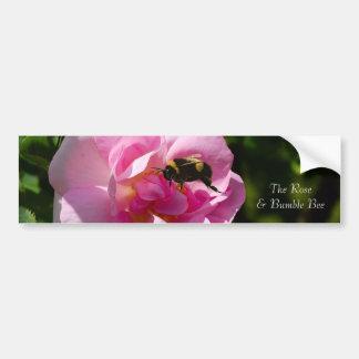Rose Flower image for Bumper-Sticker Car Bumper Sticker