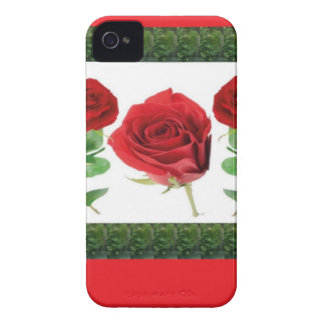 ROSE FLOWER iPhone 4 Case-Mate CASE