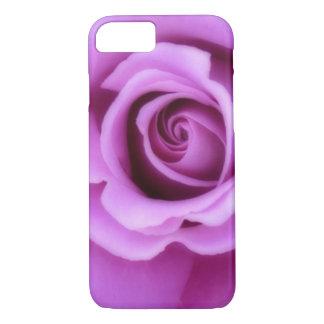 Rose Flower Lavender Purple Pink pretty floral iPhone 7 Case