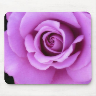 Rose Flower Lavender Purple Pink pretty floral Mouse Pad