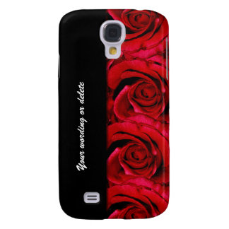 Rose flower red galaxy s4 case