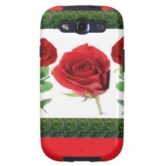 ROSE FLOWER SAMSUNG GALAXY SIII COVERS