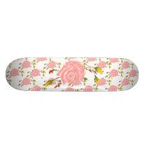 Rose Flower Skateboard