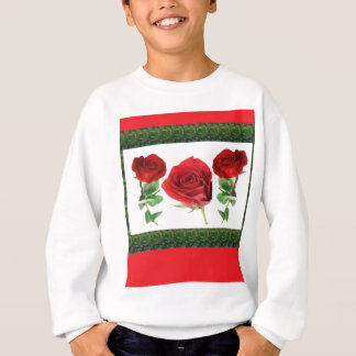 ROSE FLOWER SWEATSHIRT