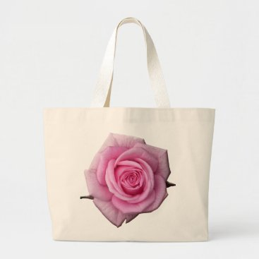 Beach Themed Rose Flower Tote Bag Pink Rose Beach Tote Bags