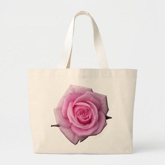 Rose Flower Tote Bag Pink Rose Beach Tote Bags