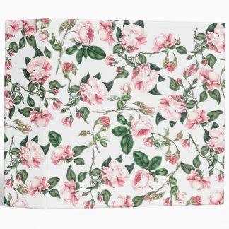 Rose Flowers Avery Binder