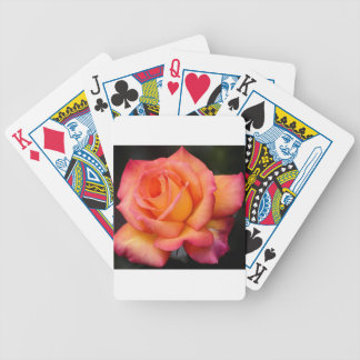 rose flowers flower blossoms petals bicycle playing cards