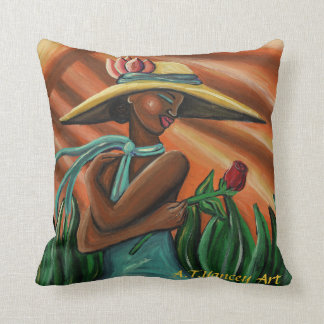 Rose for a Rose Pillow