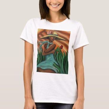 McTiffany Tiffany Aqua Rose for a Rose T-Shirt