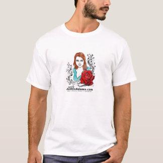 Rose for Kitten w-logo T-Shirt