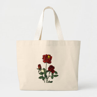 Rose for Life Large Tote Bag
