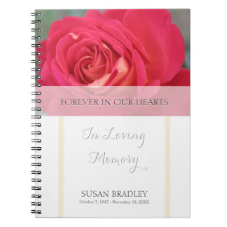 Rose Forever in Our Hearts Memorial Guest Book