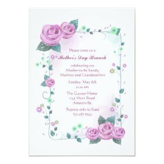 Rose Frame Invitation